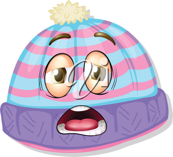 illustration of a hat on a white background