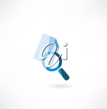 document with a magnifying glass icon