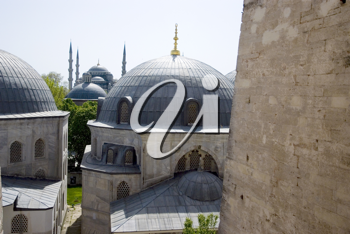 Royalty Free Photo of Religious Buildings in Turkey