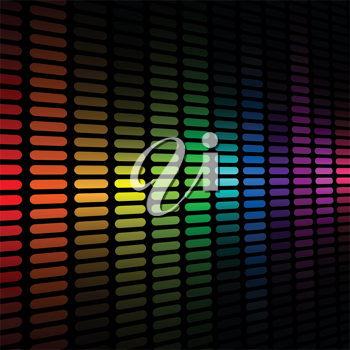 Royalty Free Clipart Image of a Colourful Background