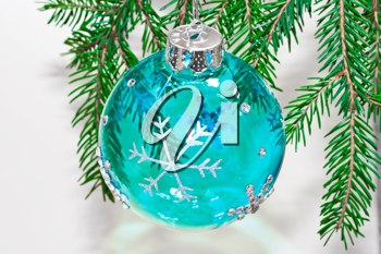 Royalty Free Photo of a Christmas Decoration