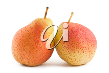 Royalty Free Photo of a Couple of Ripe Pears