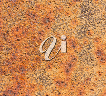 Royalty Free Photo of a Rusty Metal Textured Background
