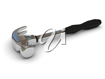 Royalty Free Clipart Image of a Hammer