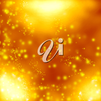 Royalty Free Clipart Image of a Gold Background