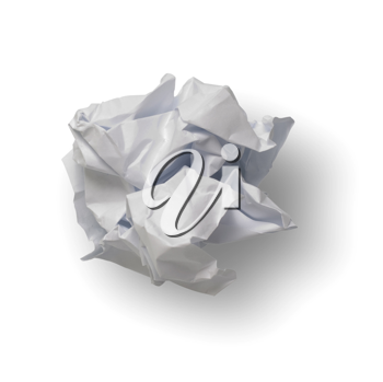 Royalty Free Photo of a Ball of Paper