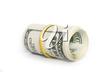 Royalty Free Photo of a Roll of Money