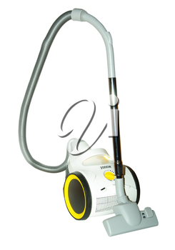 New modern vacuum cleaner isolated on white background