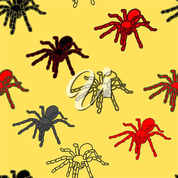 Royalty Free Clipart Image of a Spider Background