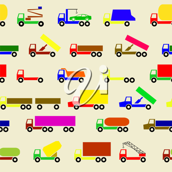 Royalty Free Clipart Image of a Cars Background