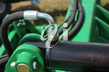 Hydraulic connectors. Agricultural machinery