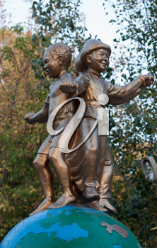 monument to peace on earth for children