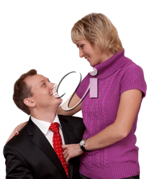 Royalty Free Photo of a Husband and Wife