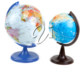 Royalty Free Photo of Two Globes