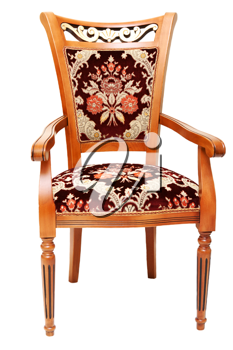 Royalty Free Photo of a Wooden Chair