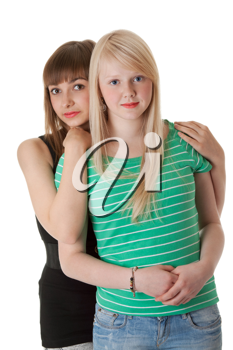 Royalty Free Photo of Two Young Girls