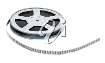 Royalty Free Photo of a Reel of Film