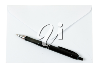 Royalty Free Photo of a Pen and Envelope
