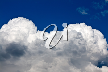 Royalty Free Photo of Clouds in a Sky