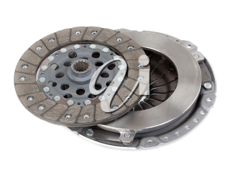 Spare parts of motor vehicle forming clutch plate and disc