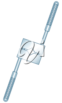 Illustration of the tap holder tool