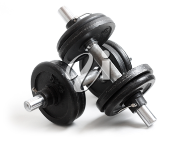 Royalty Free Photo of Weights