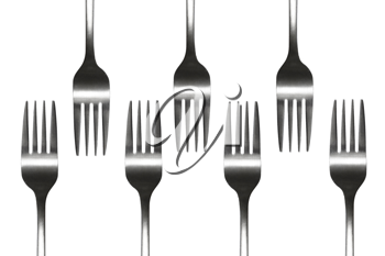 Royalty Free Photo of Forks
