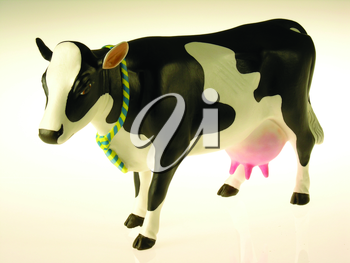 Royalty Free Photo of a Figurine of a Cow