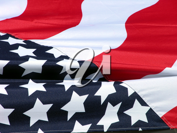Royalty Free Photo of the American Flag