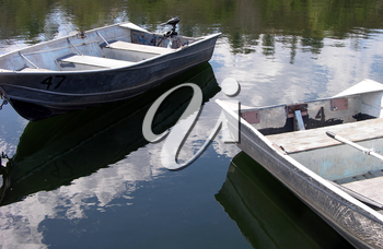 Royalty Free Photo of Boats