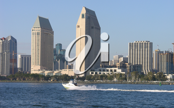 Royalty Free Photo of the San Diego Skyline