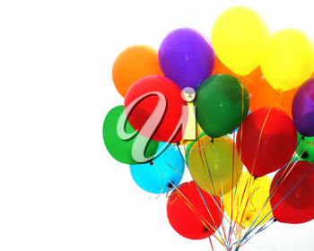 Royalty Free Photo of Colourful Balloons