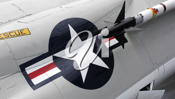 Royalty Free Photo of a US Navy Jet