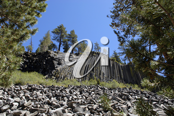 Royalty Free Photo of Devils Postpile National Monument