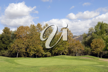 Royalty Free Photo of a Golf Course