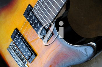 Royalty Free Photo of an Electric Guitar