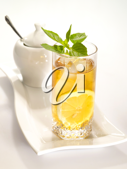 Royalty Free Photo of Iced Tea With Lemon