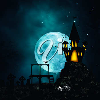 Royalty Free Photo of a Halloween Background