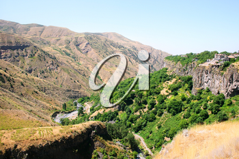 Royalty Free Photo of an Armenian Landscape