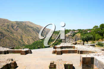 Royalty Free Photo of a View from the Temple of Garni, Armenia