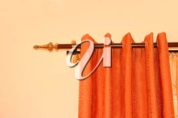 Royalty Free Photo of Curtains
