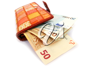 Royalty Free Photo of Money in a Wallet