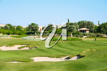 Royalty Free Photo of a Golf Course in Cyprus