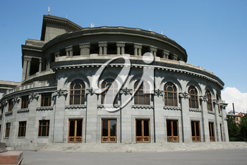 Royalty Free Photo of the Yerevan Opera Theater