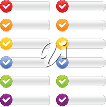 Royalty Free Clipart Image of a Checklist
