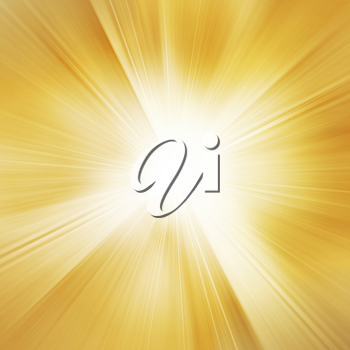 Royalty Free Clipart Image of a Sunspot Background