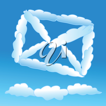 Cloudy letter