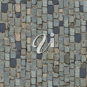 Dark Grey Stone Block Seamless Texture. (Vertical Orientation).