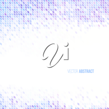 Abstract light blue lilac and white geometric background