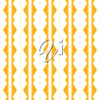 Vector seamless pattern texture background with geometric shapes, gradient colored in orange, yellow and white colors.